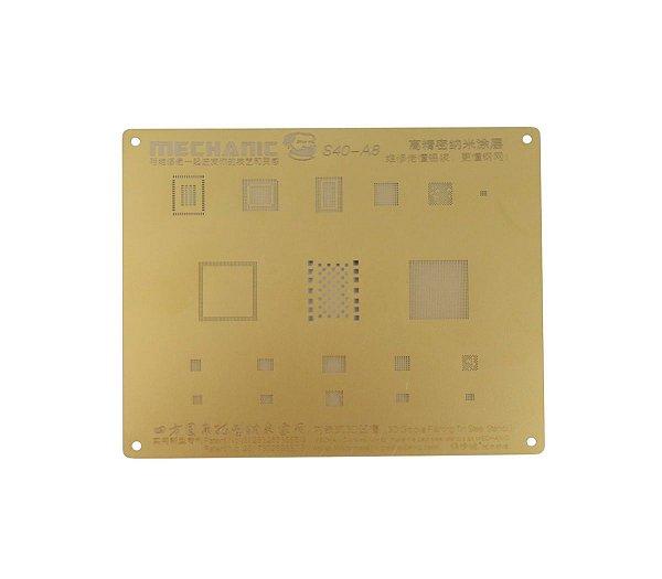 Stencil Bga 3D Mechanic A8 S40 compativel iPhone 6G