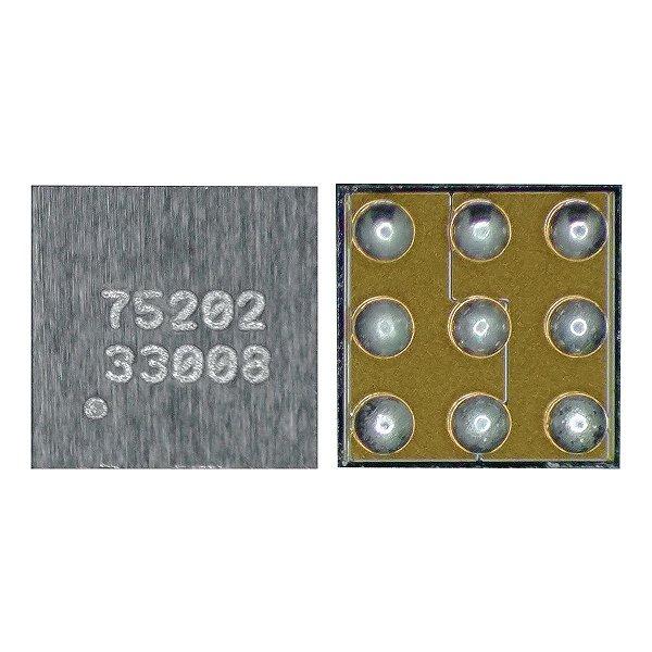 IC de Carga iPhone 4 USB 75202 9 Pinos