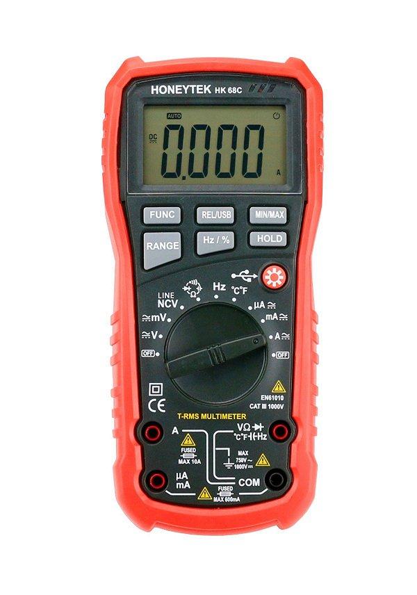 Multimetro Digital Honeytek HK68C