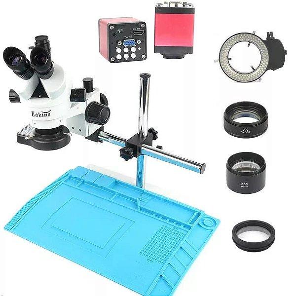 Microscopio Trinocular 37045D Articulado + Acessorios