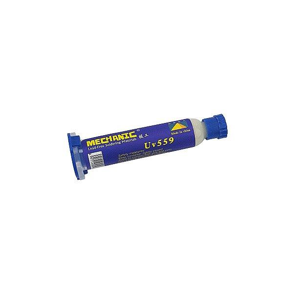 Fluxo de Solda Mechanic UV 559 Seringa 10CC