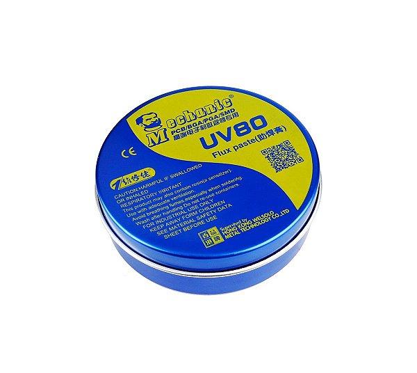 Fluxo em Pasta Mechanic UV80 PCB BGA PGA SMD