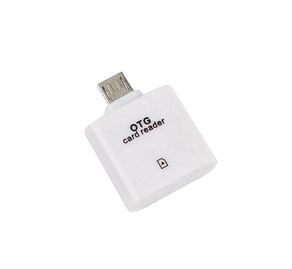 Adaptador OTG Micro USB SD Card Cartão de Memoria