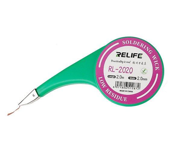 Malha Dessoldadora Relife 2020 2.0mm 2 Metros