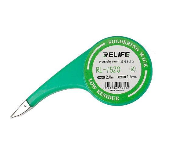 Malha Dessoldadora Relife 1520 1.5mm 2 Metros