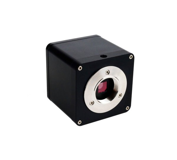 Camera Hdmi Microscópio Trinocular C Mount 4K Preta