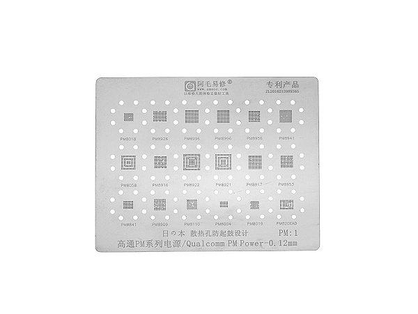 Stencil Qualcomm PM Power IC 0.12mm Amaoe P1