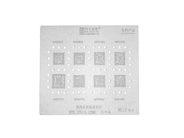 Stencil MTK CPU 0.12mm Amaoe MU3