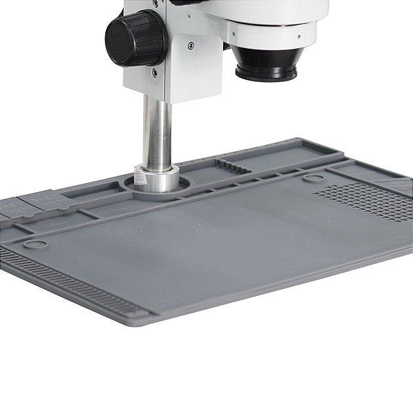 Manta Tapete Base Microscopio Metal Silicone Yaxun YX 1903