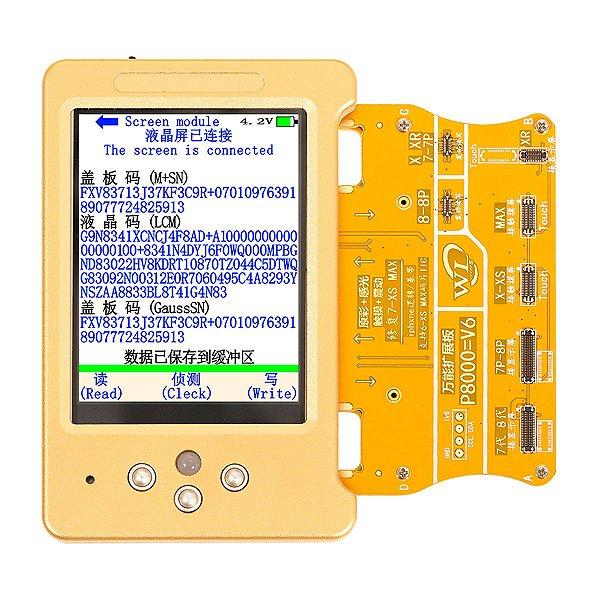 Programador WL V6 Sensor Luz Bateria Fone iPhone