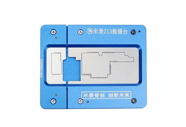 Suporte Placa Stencil Mijing Z13 iPhone X XS Max