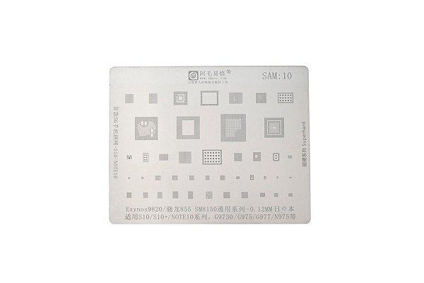 Stencil Reballing BGA Samsung S10 S10 Plus Note 10