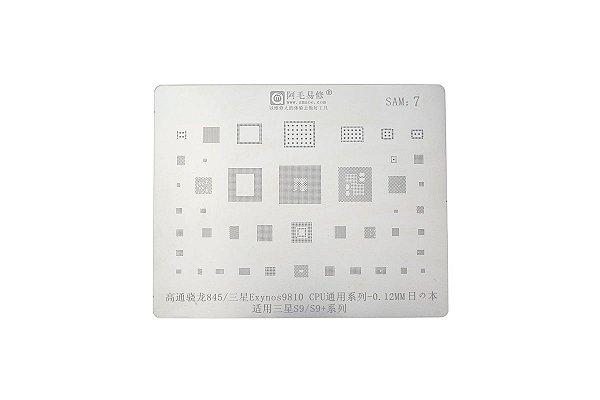 Stencil Reballing BGA Samsung S9 S9 Plus