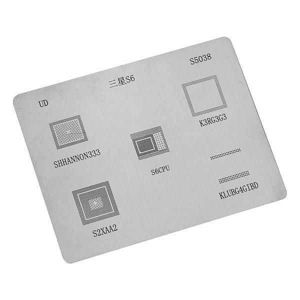 Stencil UD Samsung S6 S5038
