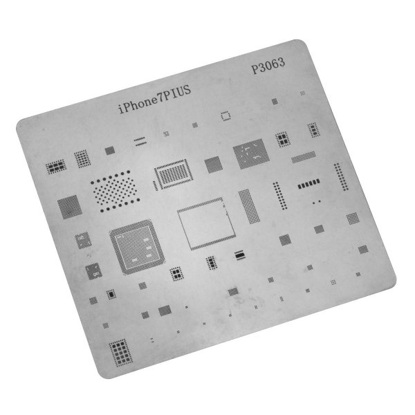 Stencil para Reballing E Bga Iphone iPhone 7 Plus P3063