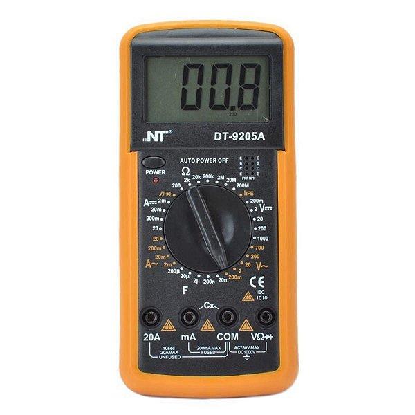 Multímetro Digital NT DT-9205A