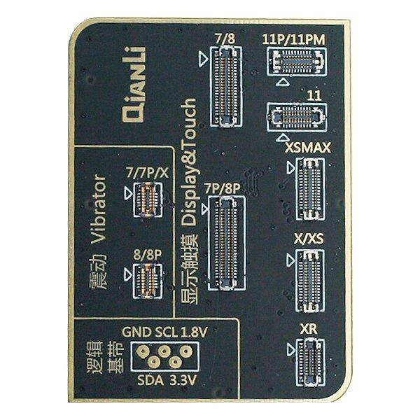 Placa de teste Display Touch Vibra iCopy Qianli 2ª Geração