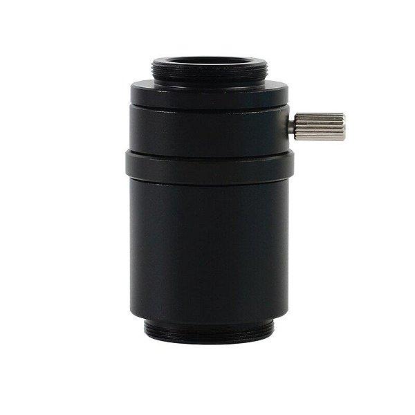 Adaptador Lente Camera Microscopio trinocular ctv 1/1