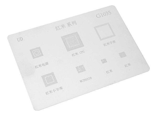 Stencil para Reballing E Bga G1035