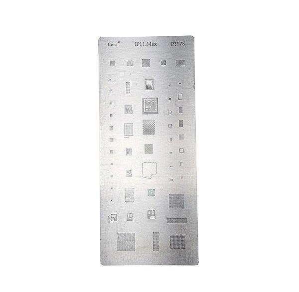 Stencil para Reballing E Bga Iphone 11 Pro Max P3073