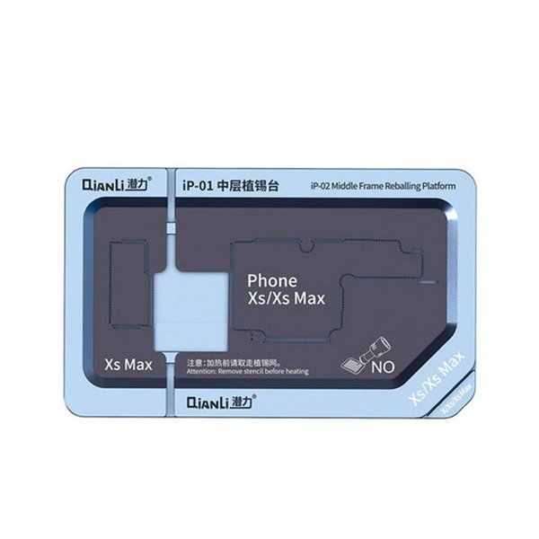 Plataforma Base Metal Qianli IP-01 Reballing Iphone X XS XS Max