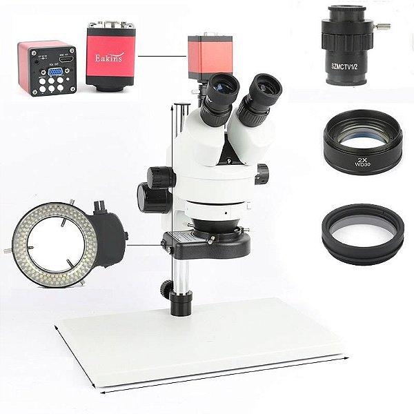 Microscopio Trinocular 37045D + Acessorios