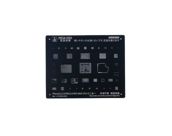 Stencil Mega idea Black iPhone 11 11 Pro 11 Pro Max