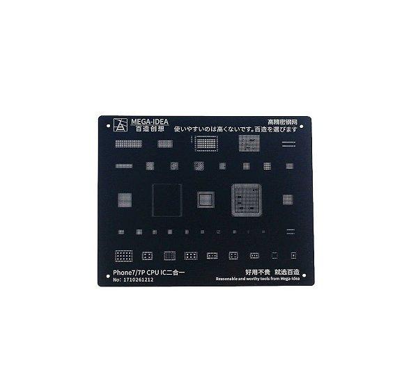 Stencil Mega idea Black iPhone 7 7 Plus