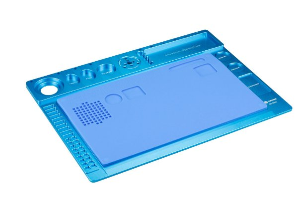 Manta de Liga de Alumínio para Microscópio SS 004N Azul