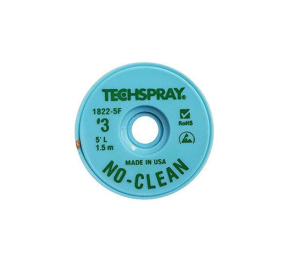 Malha Dessoldadora Techspray 1822-5F 1,9MM X 1,5M