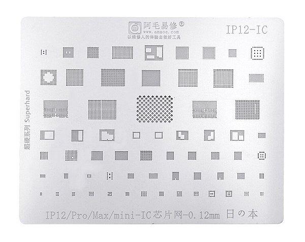 Stencil A14 iPhone 12 12 Mini 12 Pro 12 Pro Max Amaoe