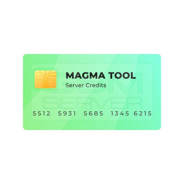Pacote De 20 Créditos para Magma tool