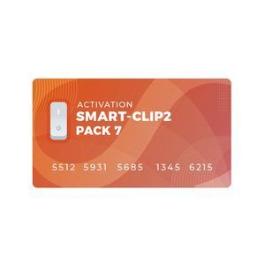 Pack 7 Ativação para Smart Clip 2