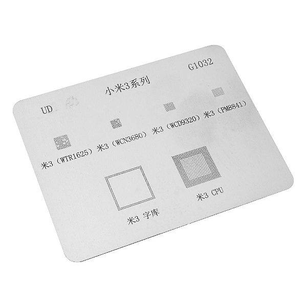 Stencil Reballing BGA G1032 Xiaomi Mi 3