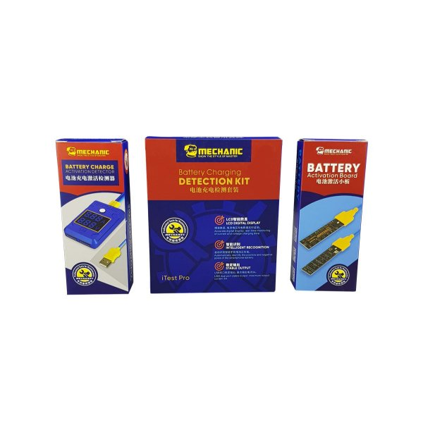 Reativador de Baterias Mechanic Itest Pro Android Iphone