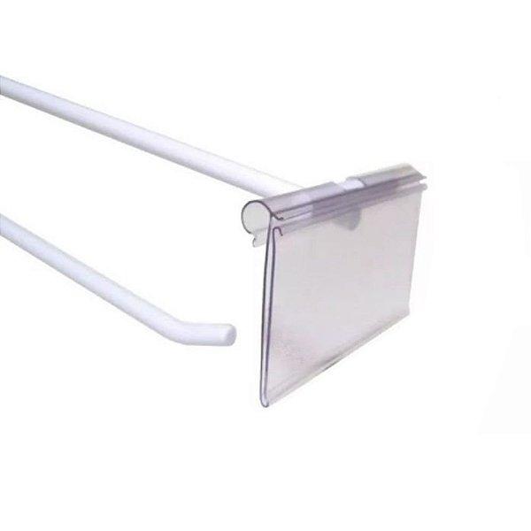 Etiqueta de PVC para Gancho Porta Preço-Modelo 7,5 (C ) X 5,5 (A) e 5,5 (C ) X 4,5 (A) CM - CAIXA COM 100 PÇS- clique na foto para ver detalhes