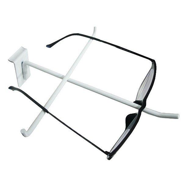 20 Porta Óculos Para Painel Canaletado -- Branco, Preto e Cromado - Prazo de Fabricação até 7 dias úteis