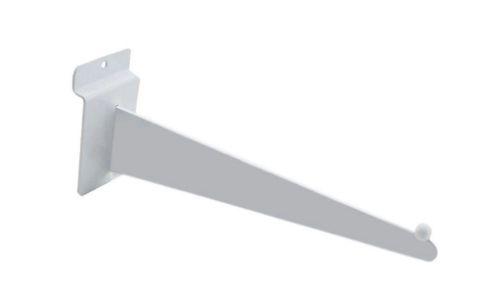 Suporte Faca  Esfera  Para Montar Prateleira- Painel Canaletado - 20 a 40 cm - CAIXA COM 30 PÇS  - Branco ou Preto - Pronta entrega