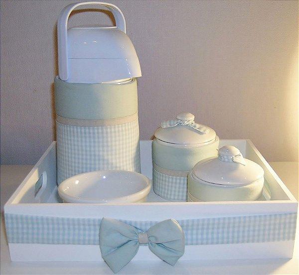 Kit higiene do bebê com 5 peças
