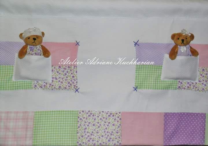 Bandô patchwork ursinhas