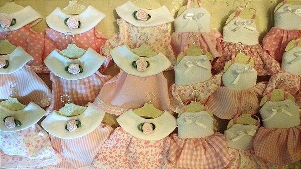 Lembranças Maternidade Sachê Mini Vestidos