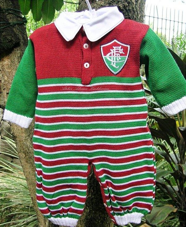 Macacão bebê time SPFC, Corinthians, Santos ou Fluminense