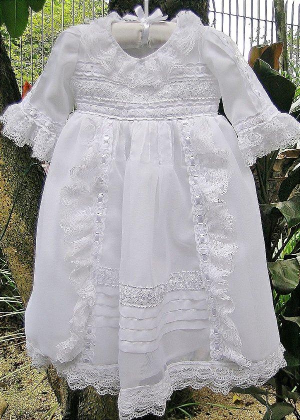 Vestido Batizado Princesa