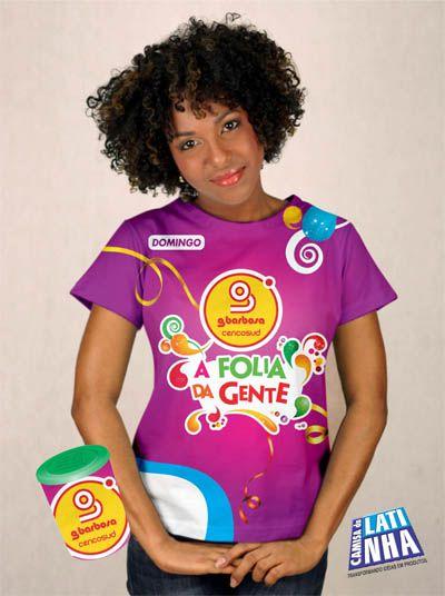 Camiseta Impressão Total