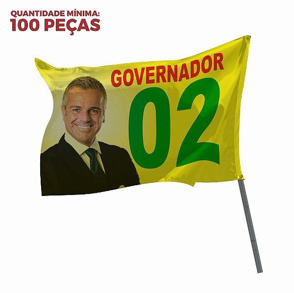 BANDEIRA EM TECIDO FLAG DUPLA FACE
