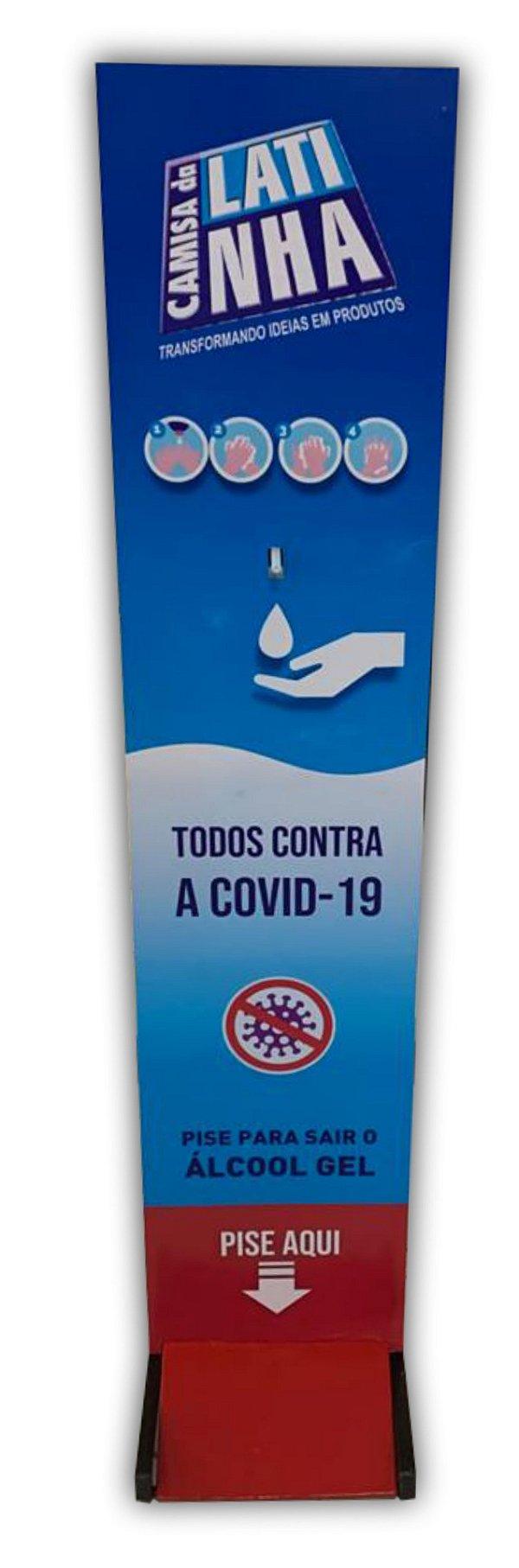Totem de Proteção - Álcool gel