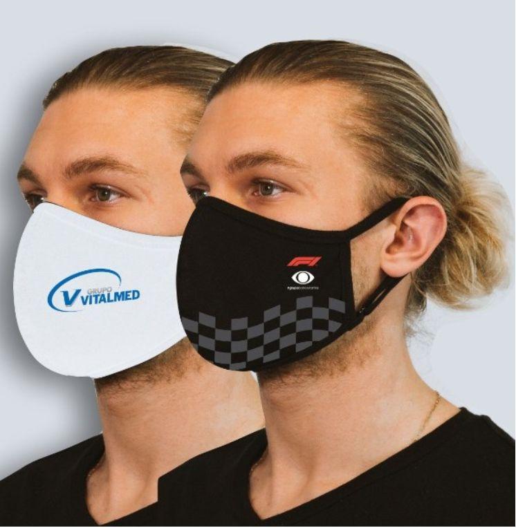Máscara Personalizada - Tripla camada
