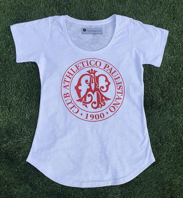 Camiseta feminina Oficial (branco)