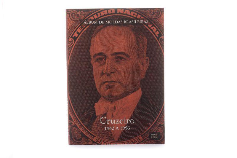 Álbum para moedas do Brasil - Cruzeiro 1942 a 1956
