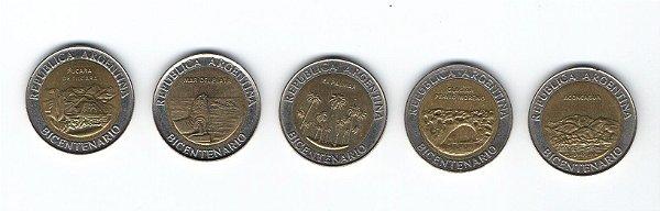 Série de Moedas de 1 peso - Argentina